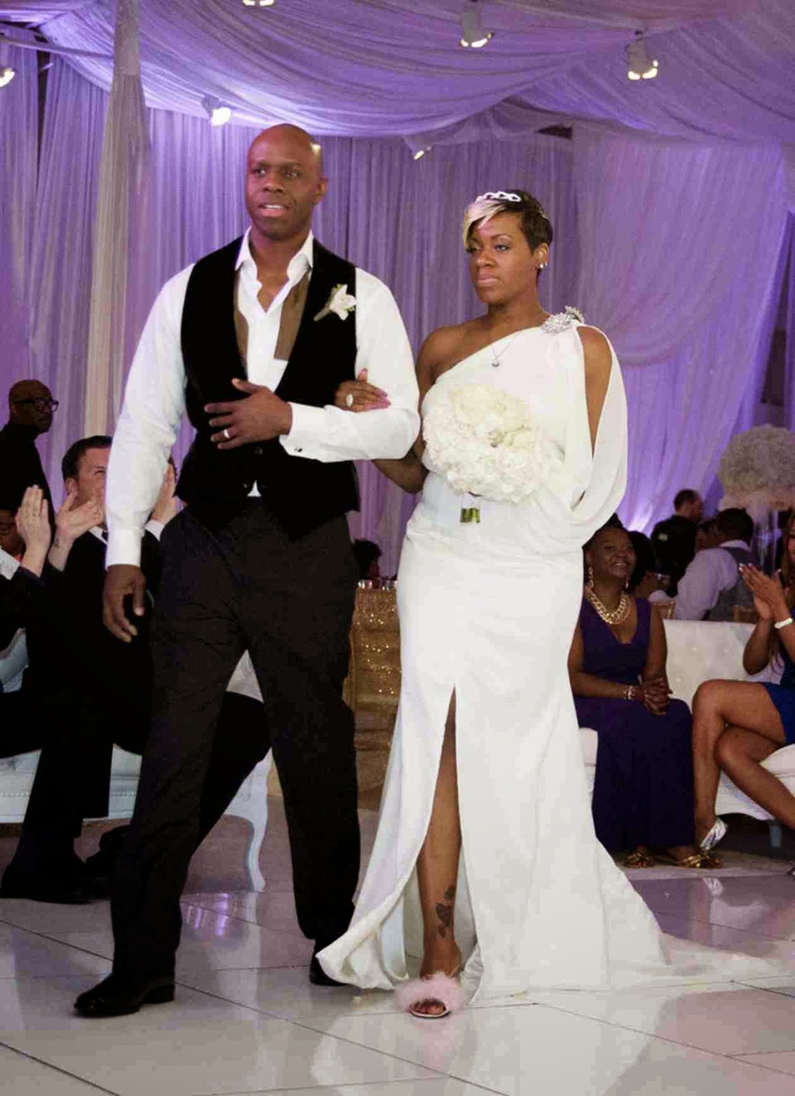 SEE MORE PHOTOS of Real Housewives of Atlanta\'s Kandi Burruss\' Wedding