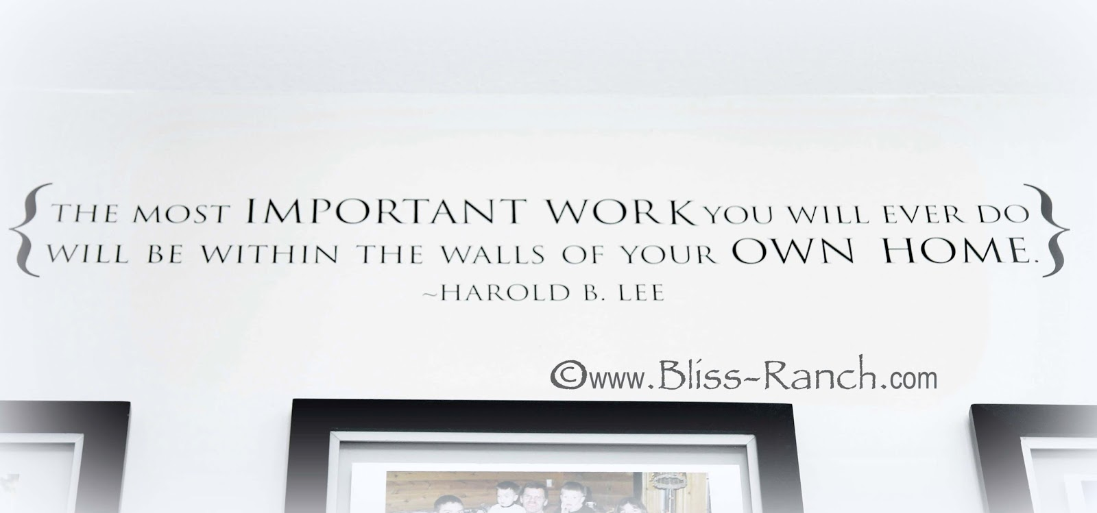 Wall Words, Bliss-Ranch.com