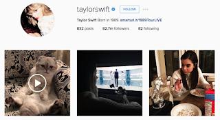 akun instagram +Taylorswift