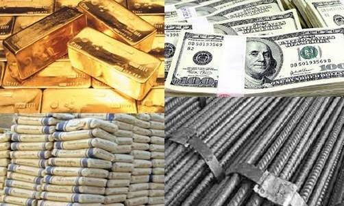 """اخبار الإقتصاد في مصر, اليوم الإثنين 31/10/2016, قائمة بأسعار العملات والمعادن """"الدولار , الذهب, الحديد , الأسمنت"""""""