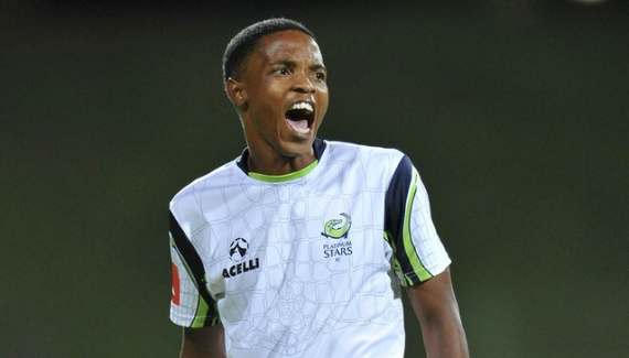 Platinum Stars winger Mahlatse Makudubela