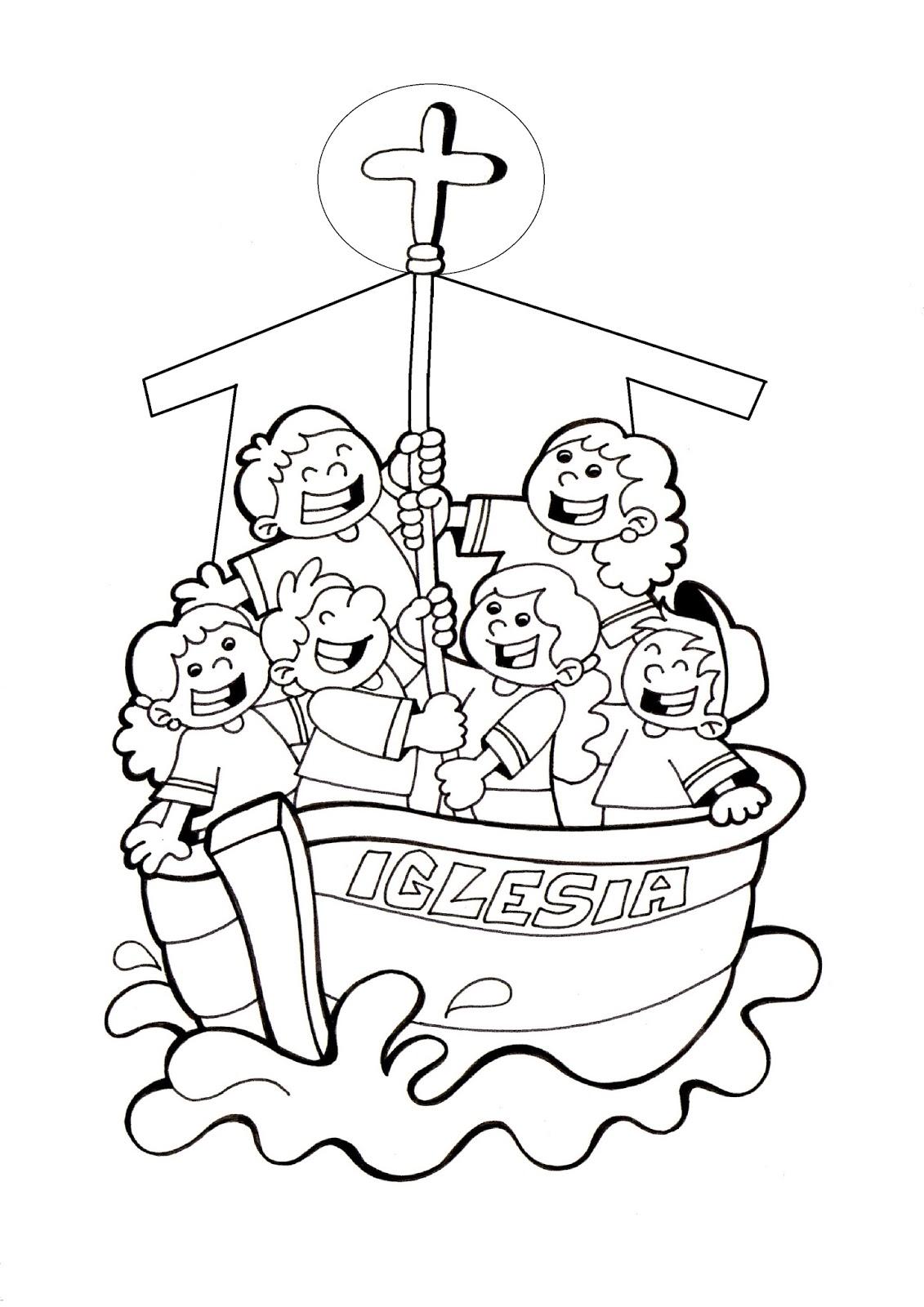 Dibujo Iglesia