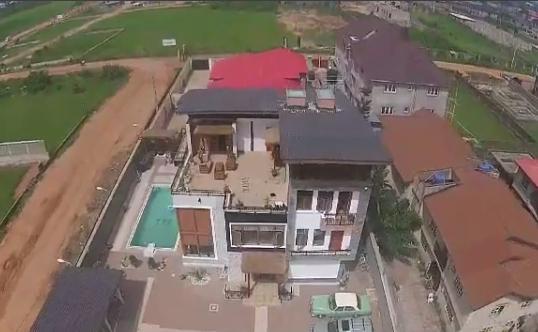 image result for kunle afolayan house