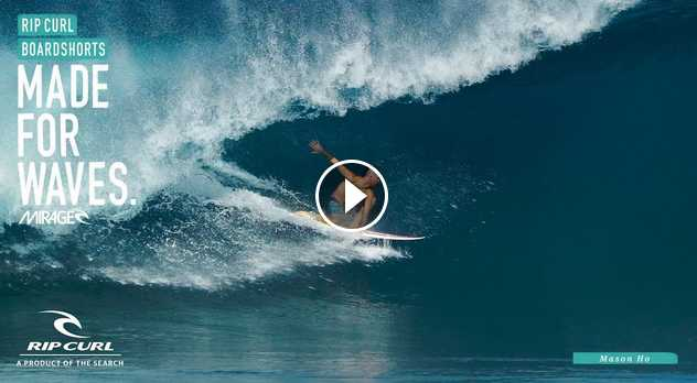 Mason Ho Winter Highlights Made For Waves by Rip Curl