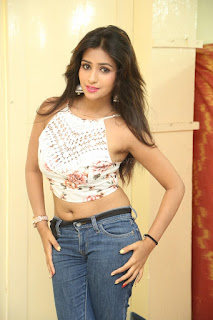 Deekshita Parvathi in a short crop top and Denim Jeans Spicy Pics Beautiful Actress Deekshita Parvathi January 2017 CelebxNext (246).JPG