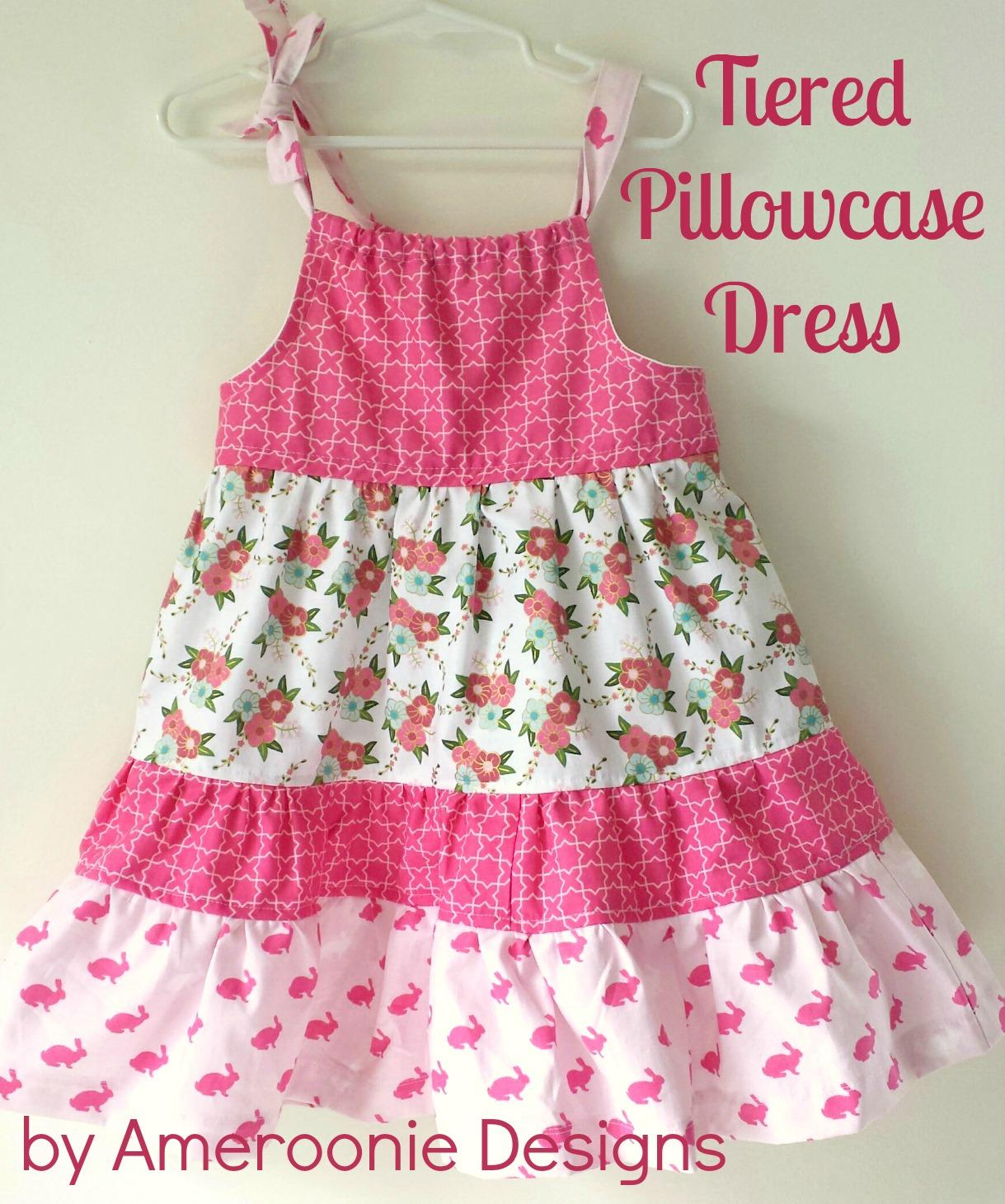 e60f3481b Ameroonie Designs  Wonderland Tiered Pillowcase Dress