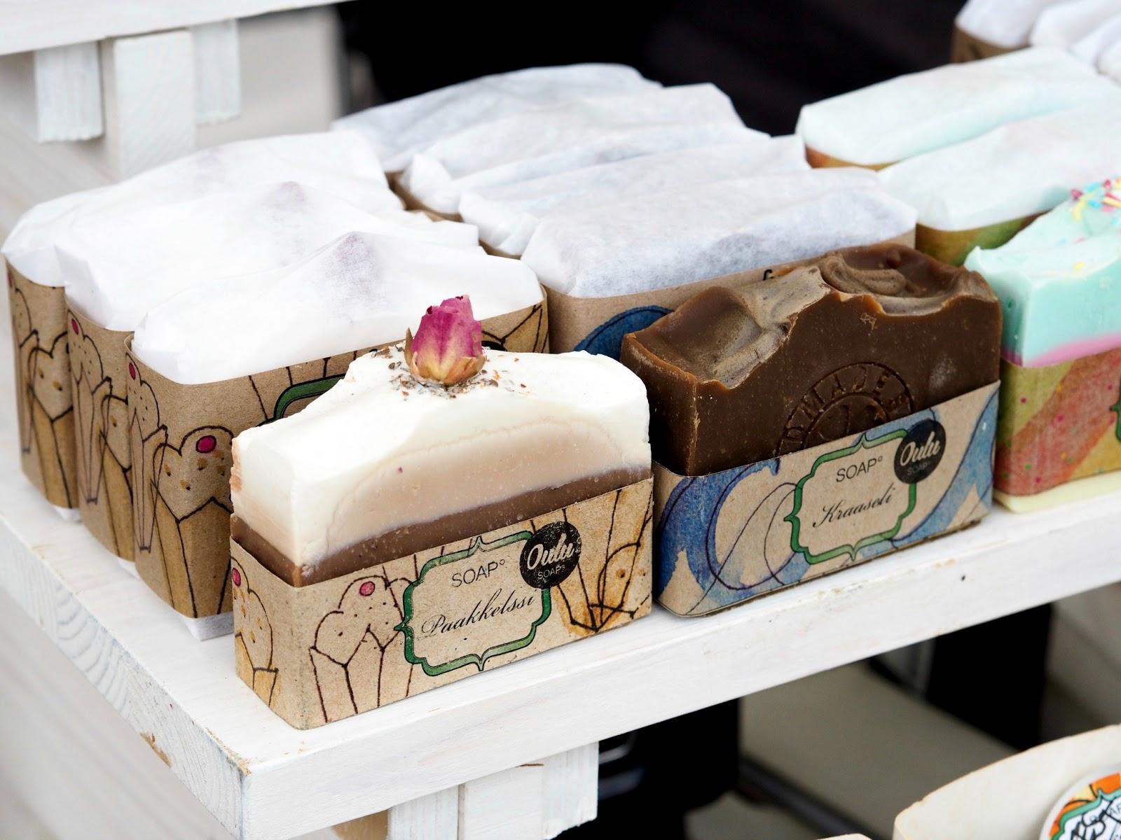 soap oulu käsintehty saippua