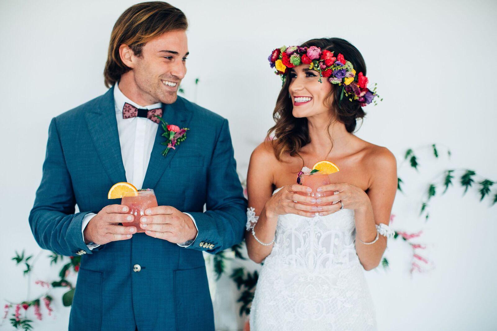 STYLED: COLOUR BURST WEDDING INSIRATION   SUMMERGROVE ESTATE NSW