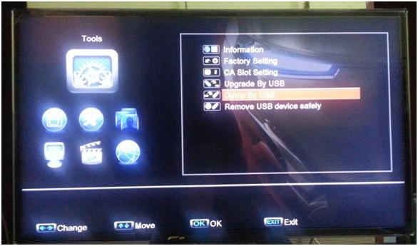 Cara-Cara untuk upgrade Firmware pada SKYBOX F3 DAN F5  | Kotak