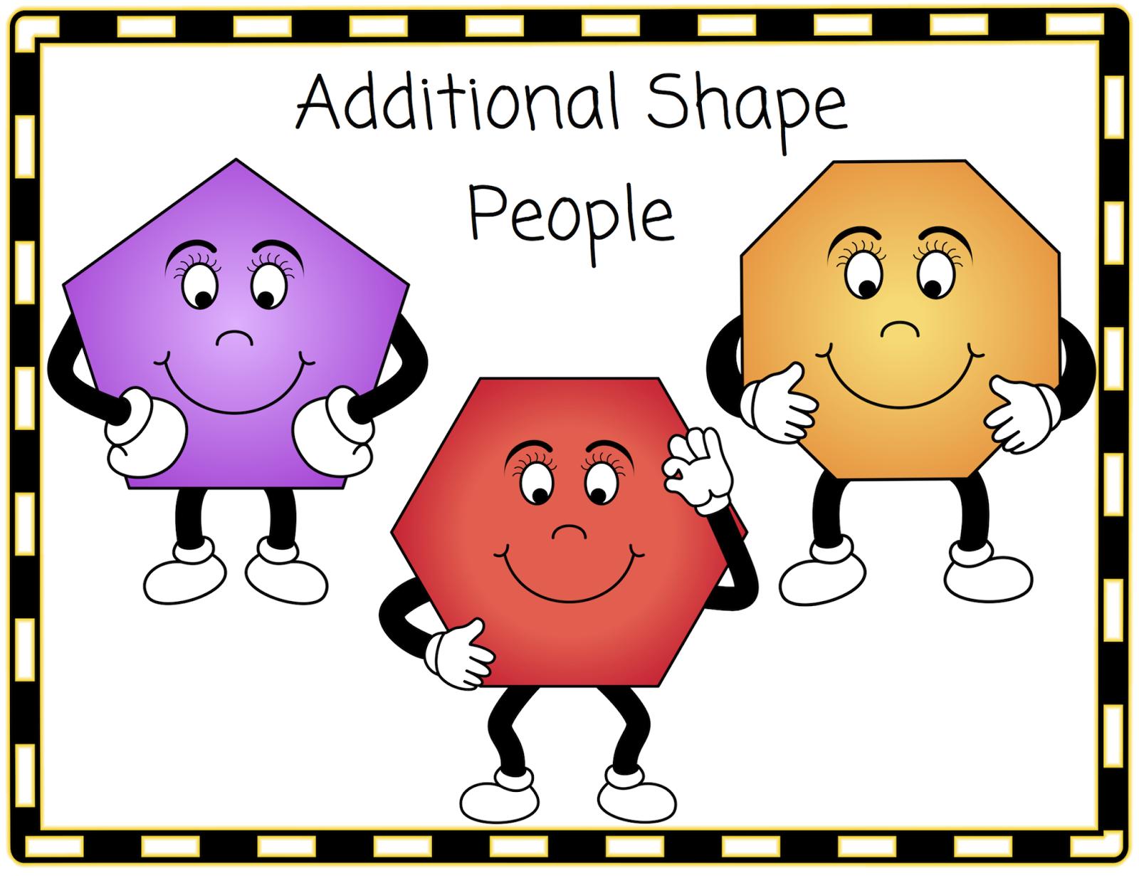 Classroom Treasures: Shape People