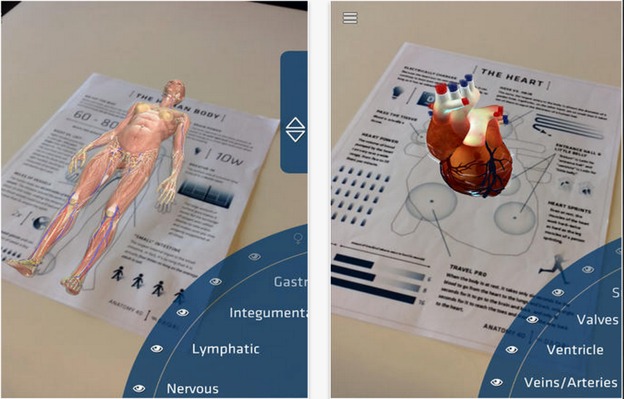 Here is A Great App to Explore The Human Body in 4D | Educational ...