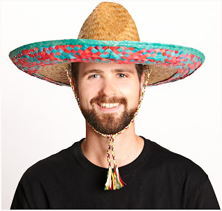 Adult Sombrero - Brown - One-Size