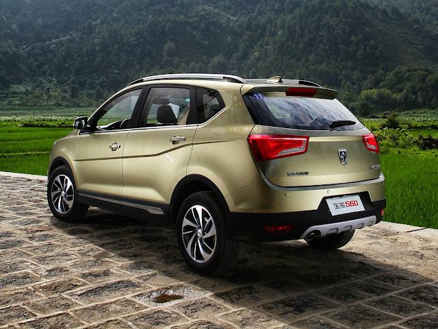 Baojun 560 - marca de baixo custo da GM na China