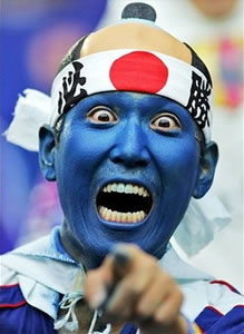 Japanese blue man group