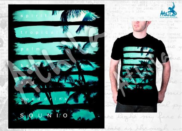 ef3a52399e0cd ATHILA ilustraciones (ilustración textil)  Diseño estilo surf para ...