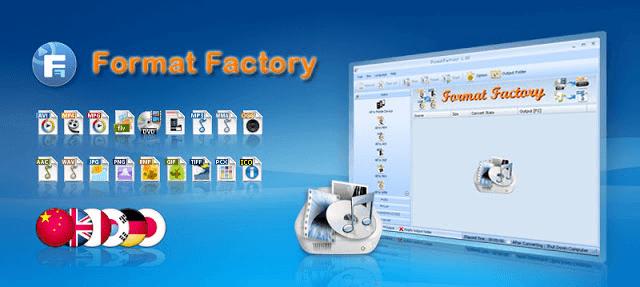تحميل برنامج Format Factory اقوى برامج تحويل الصيغ للفيديو والملفات الصوتية