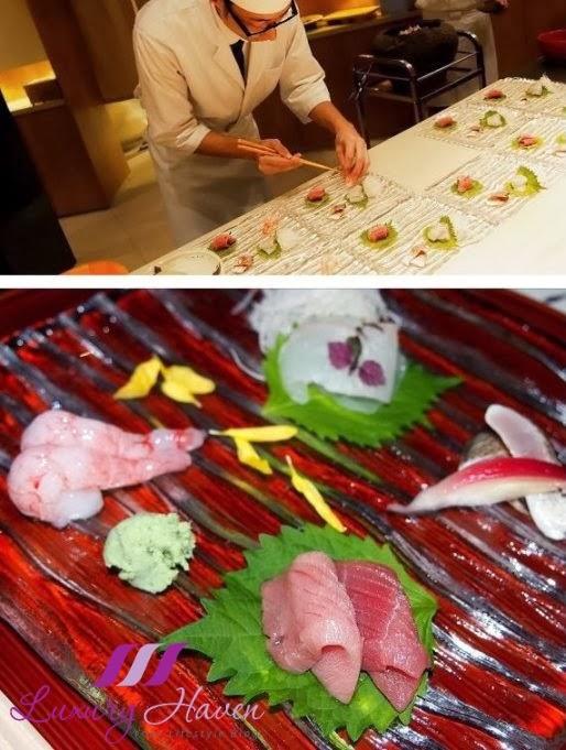 hashi japanese restaurant sashimi dining review