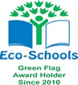 Four Green ECO Flags