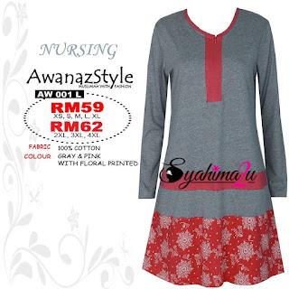 T-Shirt-Muslimah-Awanazstyle-AW001L