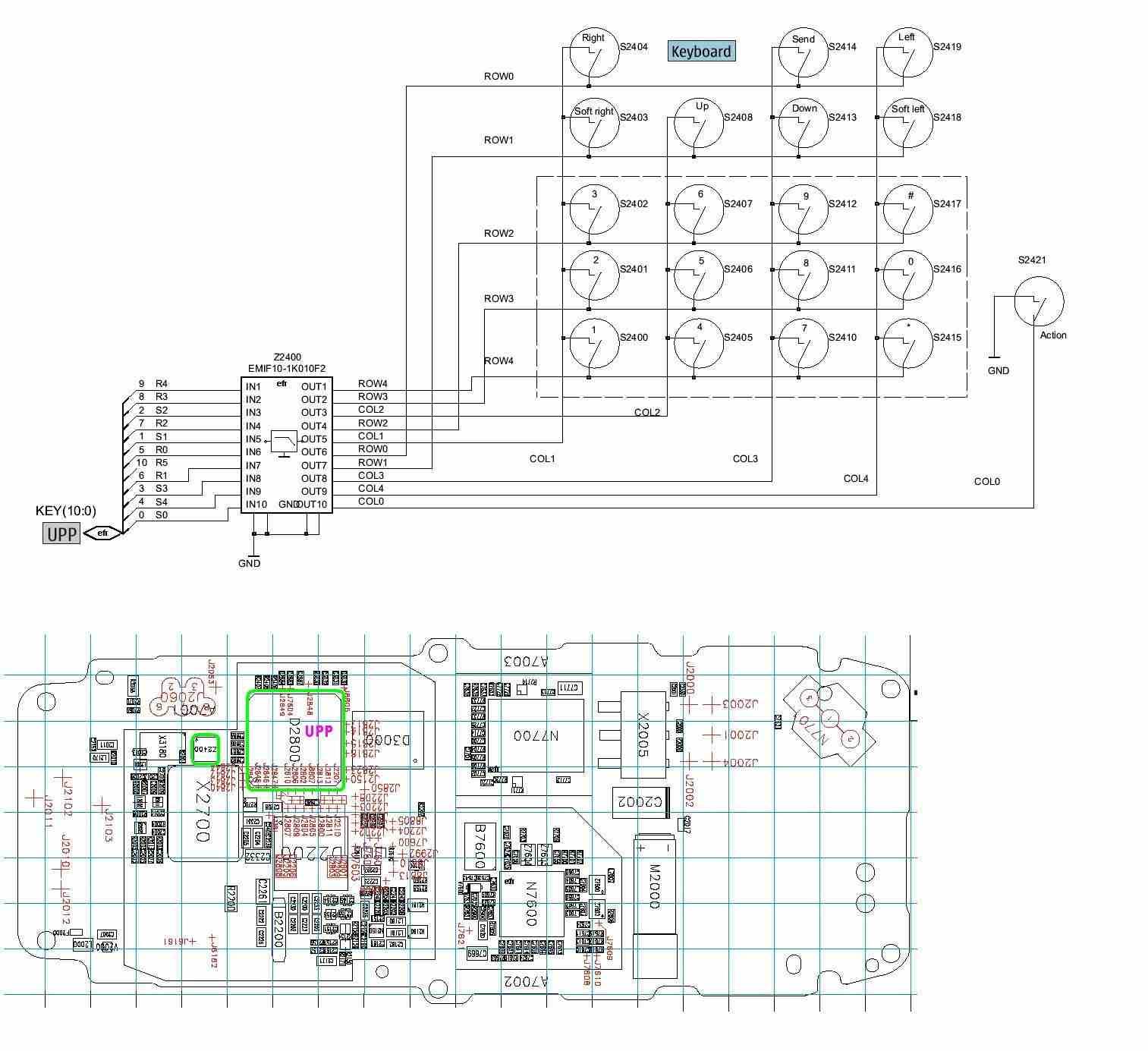 Nokia 1600 Diogram To Keypad Solution