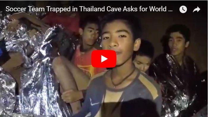 Murió un buzo intentando salvar a los niños atrapados en una cueva en Tailandia