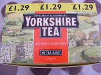 Yorkshire Tea, tea