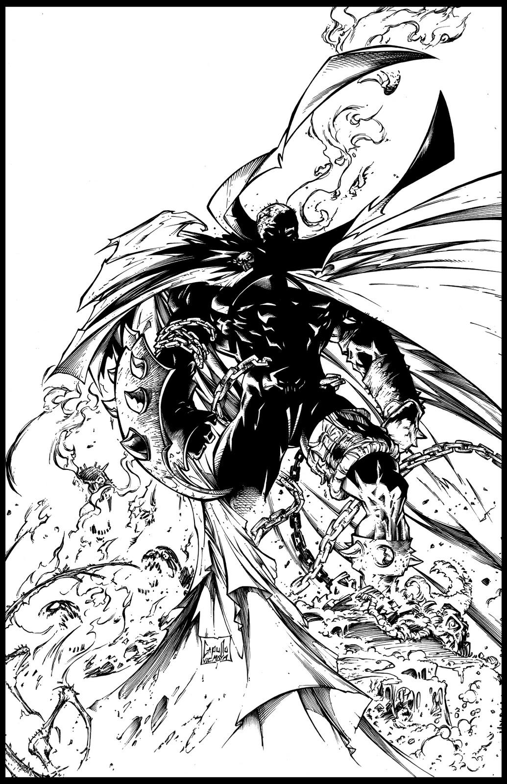 comic book ink slinger  greg capullo