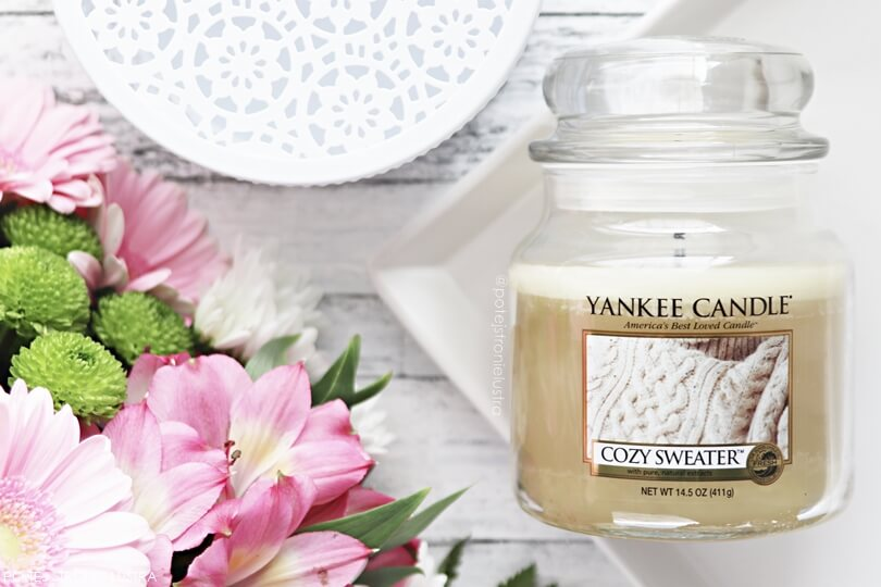 cozy sweater yankee candle