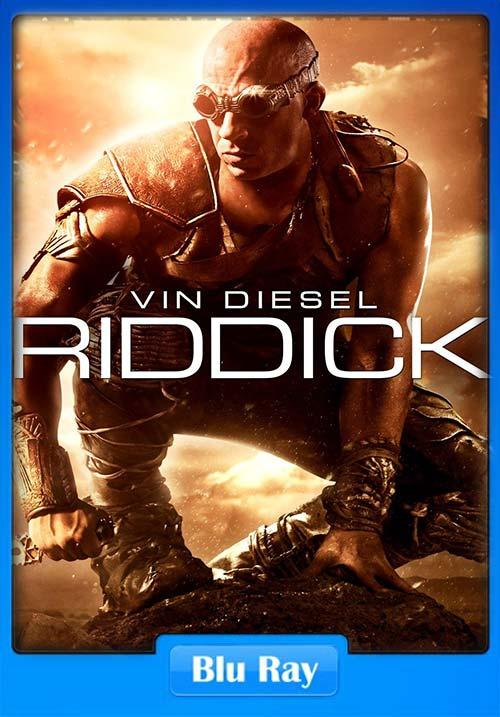Riddick 2013 720p Dual Audio Hindi BRRip x264 | 480p 300MB | 100MB HEVC