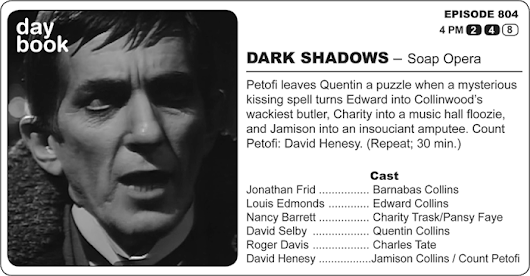 The Dark Shadows Daybook: July 16