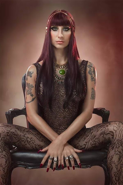 Sexy metal: Liv Jagrell