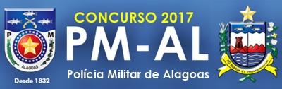concurso Polícia Militar de Alagoas PMAL 2017