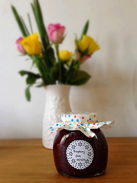 Homemade raspberry jam recipe