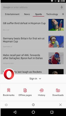 OPERA BROWSER WITH FREE VPN APK FOR ANDROID
