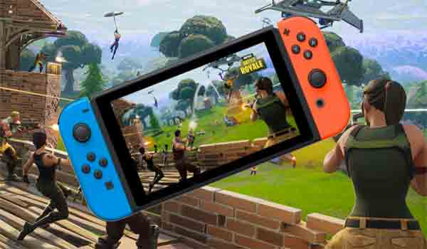 Fortnite llega a  Nintendo Switch completamente gratis