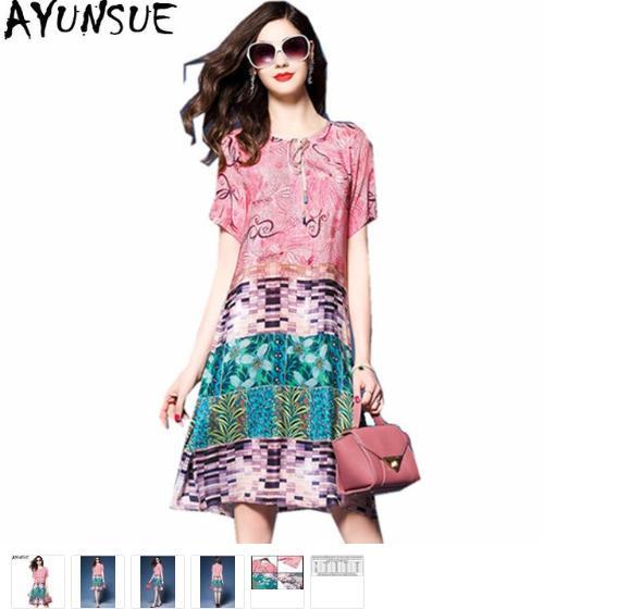 9c6fa5cecb5f2 AYUNSUE Fashion Vintage Silk Print Floral Dress Women Short Sleeve ...