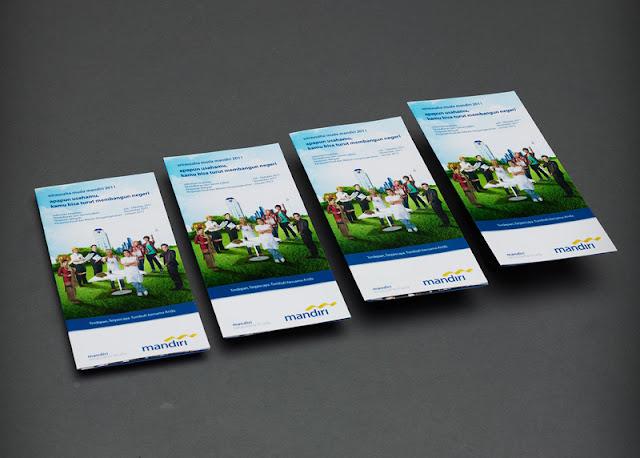 produk flux design brosur bank mandiri