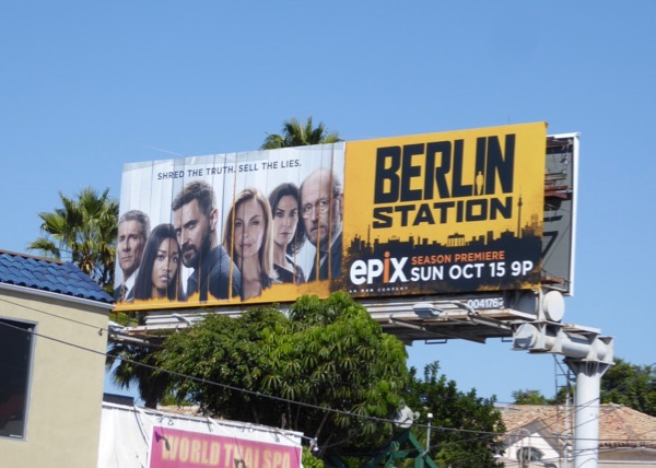 Berlin Station season 2 billboard