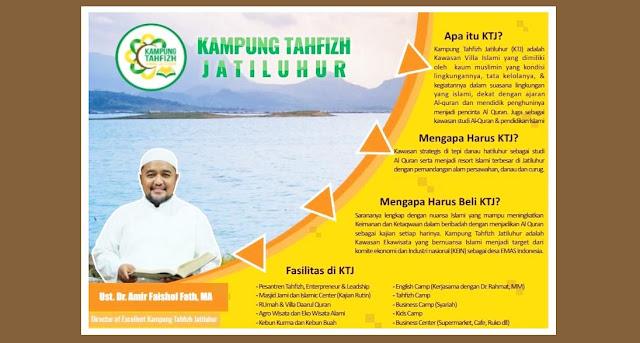 Investasi Properti Syariah Kampung Tahfidz Jatiluhur