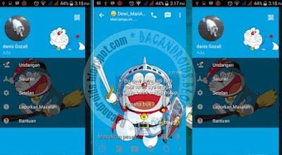 BBM Mod Doraemon 2.13.1.14 Apk