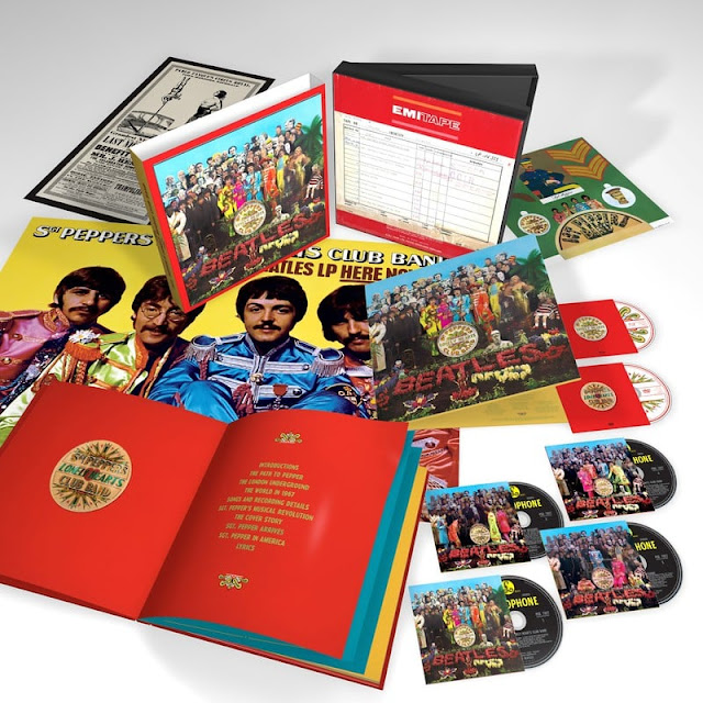 """""""Sgt. Pepper's Lonely Hearts Club Band"""" 50th Anniversary Box Set"""
