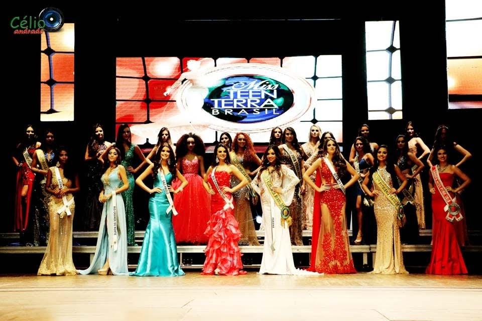 Finalistas do Miss Teen Terra Brasil 2018 e 2019. Foto: Célio Andrade