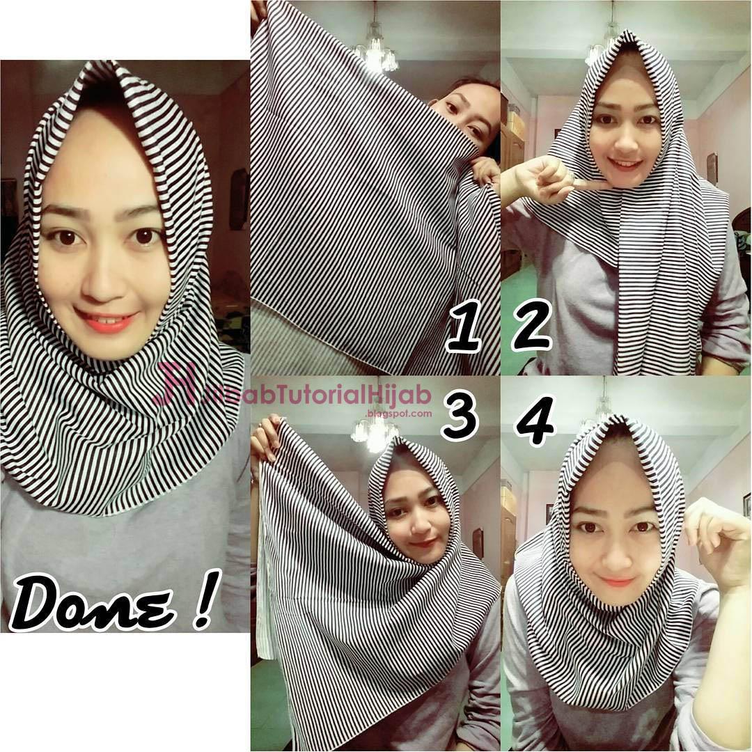 25 Gambar Keren Tutorial Hijab Rawis Kusut Sayang Dilewatkan