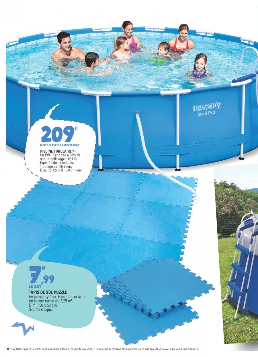Promo piscine hors sol leclerc simple meilleurs voeux for Leclerc piscine gonflable