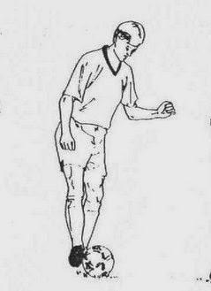 Teknik Cara Mengontrol atau Menghentikan Bola Pada Permainan Sepakbola