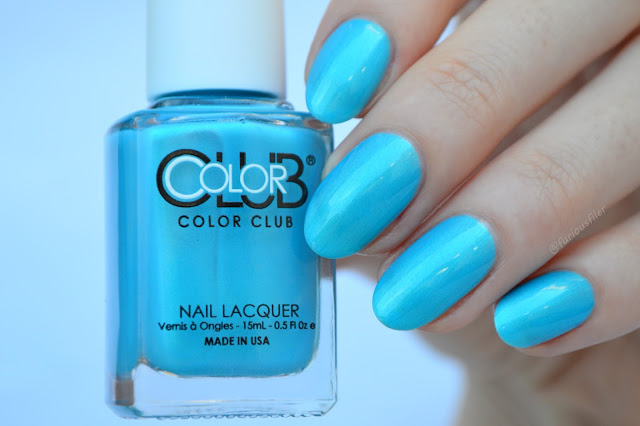 color club pure energy turquoise swatch furious filer