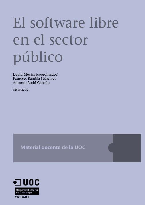 El Software Libre en el Sector Público – UOC