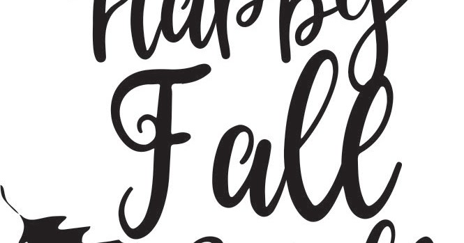 Download Happy Fall Y'all Free SVG Files
