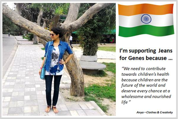 Sydney Fashion Hunter - Fashion Bloggers For Jeans For Genes - Clothes & Creativity - India
