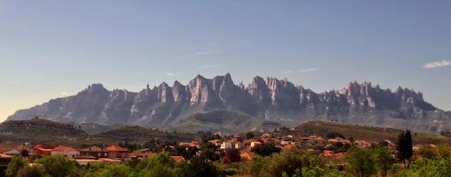 Romiatge a peu de Vilanova a Montserrat
